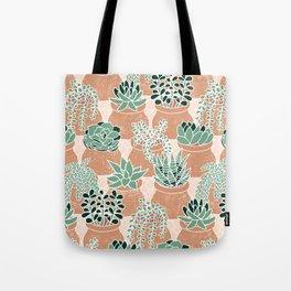 Succulent's Tiny Pots Tote Bag