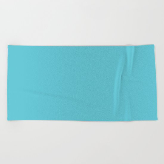 Simply Seaside Blue Beach Towel