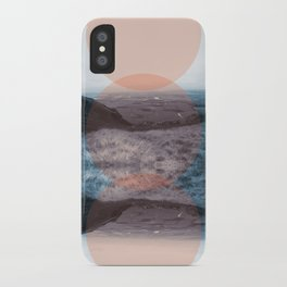 Blue Denny iPhone Case