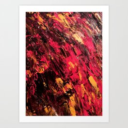 Calcination (Alchemy; phase two) Art Print