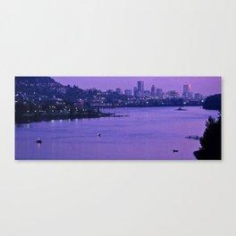 Portland Purple Canvas Print