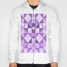 Purple Diamonds Hoody