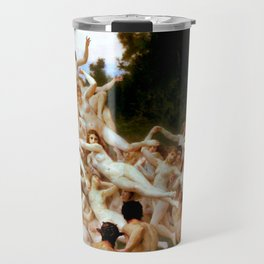 "William-Adolphe Bouguereau ""Les Oréades (The Oreads)"" Travel Mug"