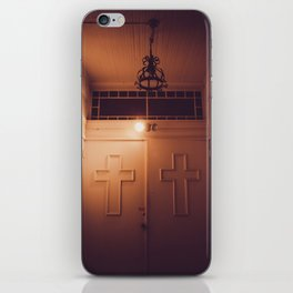 church doors iPhone Skin