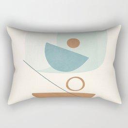 Azzurro Shapes No.54 Rectangular Pillow