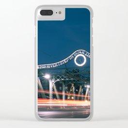 Urban Nights, Urban Lights #3 Clear iPhone Case