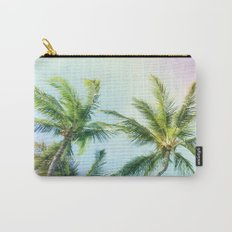 Relaxing Rainbow Color Palms Carry-All Pouch