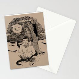 Lilith in the Garden of Edom Stationery Cards