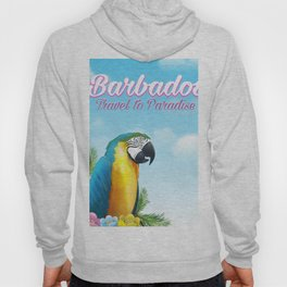 Barbados Travel poster Hoody