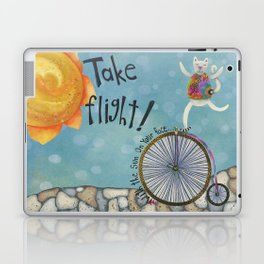 Take Flight With The Sun On Your Face Laptop & iPad Skin