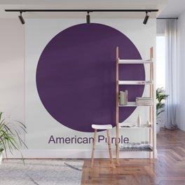 American Purple Wall Mural