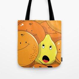 Lemon squeezed by Oranges Tote Bag