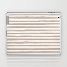 Skinny Stroke Horizontal Nude on Off White Laptop & iPad Skin