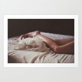 Her mornings Art Print