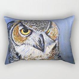 what a hoot Rectangular Pillow
