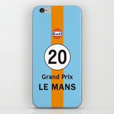Steve McQueen - Le Mans Grand Prix variation iPhone 4 5 6, ipod, ipad case Samsung Galaxy iPhone & iPod Skin