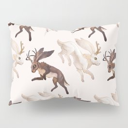 Ying Yang Jackalope Pillow Sham