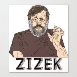 Zizek Canvas Print