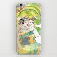 wedding iPhone & iPod Skins featuring wedding by Agata Kowalska