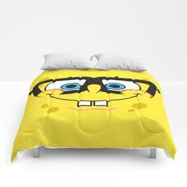 Spongebob Nerd Face Comforters