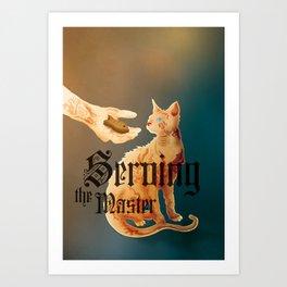 Serving the Master Art Print
