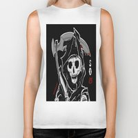 sons of anarchy Biker Tanks featuring Sons Of Anarchy (Reaper) by ItalianRicanArt