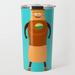 Colored Milk Travel Mug