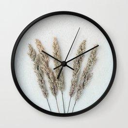 Summer Grass II Wall Clock
