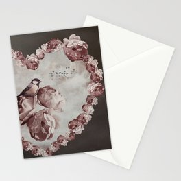 Heart of Roses Stationery Cards
