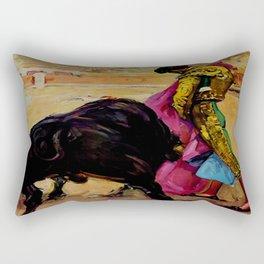 Fiesta de Toros in Spain Travel Rectangular Pillow