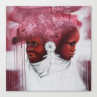african Canvas Prints featuring African  by Sebastian Wandl