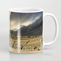 greece Mugs featuring ancient Greece by Meirion Matthias