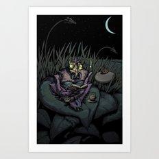 Night Bug Art Print