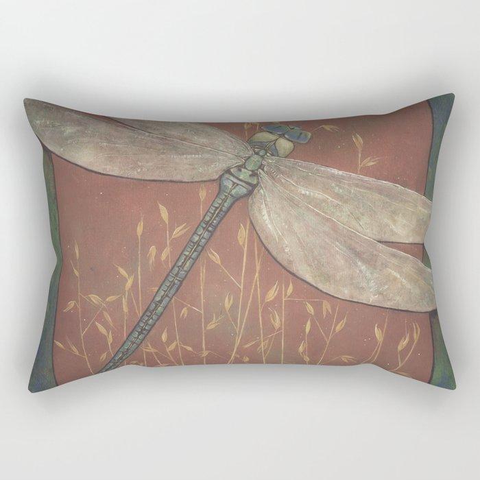 Fleeting Fancy of the Field Rectangular Pillow