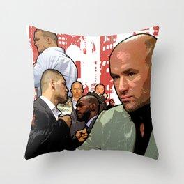 UFC Fight Empire Throw Pillow