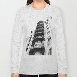 Warehouse District Architecture Hamburg Long Sleeve T-shirt