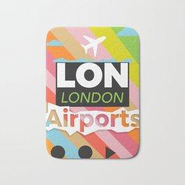 LON airports modern Bath Mat