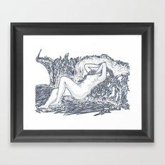 Raya Framed Art Print