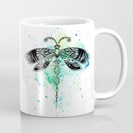 Watercolor dragonfly Coffee Mug