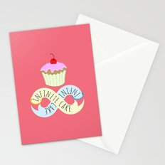 Infinite cake Stationery Cards