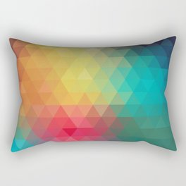 Abstract Geometric Pattern Rectangular Pillow