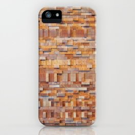 WOOD TEXTURE iPhone Case