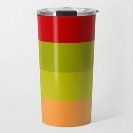 Warm Bright Autumn Leaves - Color Therapy Travel Mug
