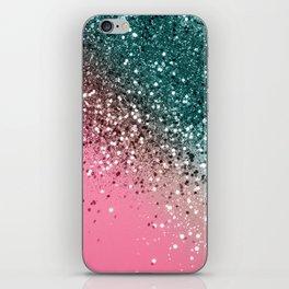 Tropical Watermelon Glitter #2 #decor #art #society6 iPhone Skin