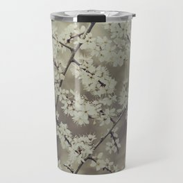 hawthorn blossoms Travel Mug