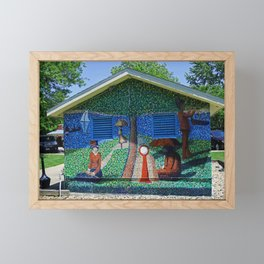Saugatuck II Framed Mini Art Print