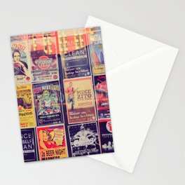 Concert posters Stationery Cards