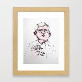 David Hockney Framed Art Print