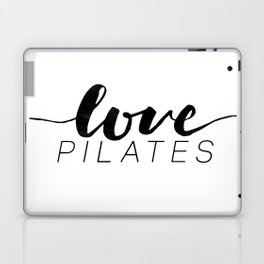 love pilates Laptop & iPad Skin