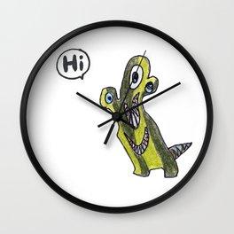 Cactagee MonstA  Wall Clock